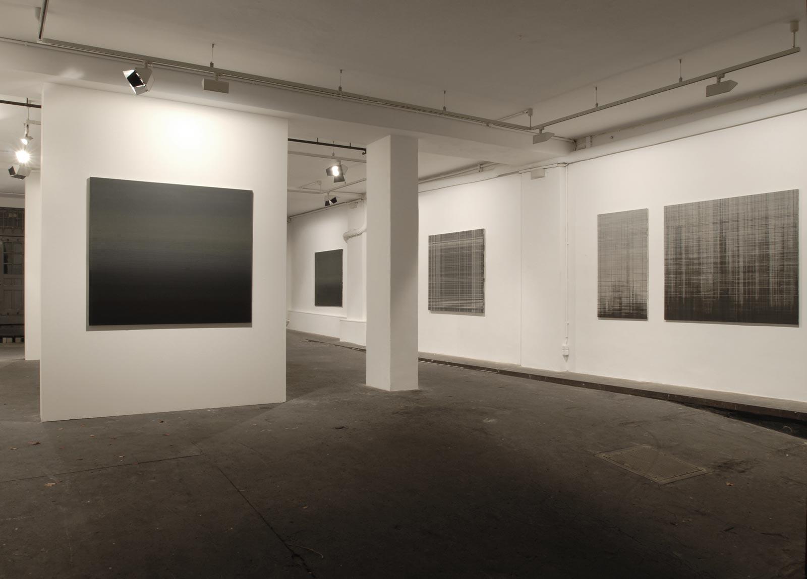 Westwerk Ausstellung Linienbilder Ole Grönwoldt