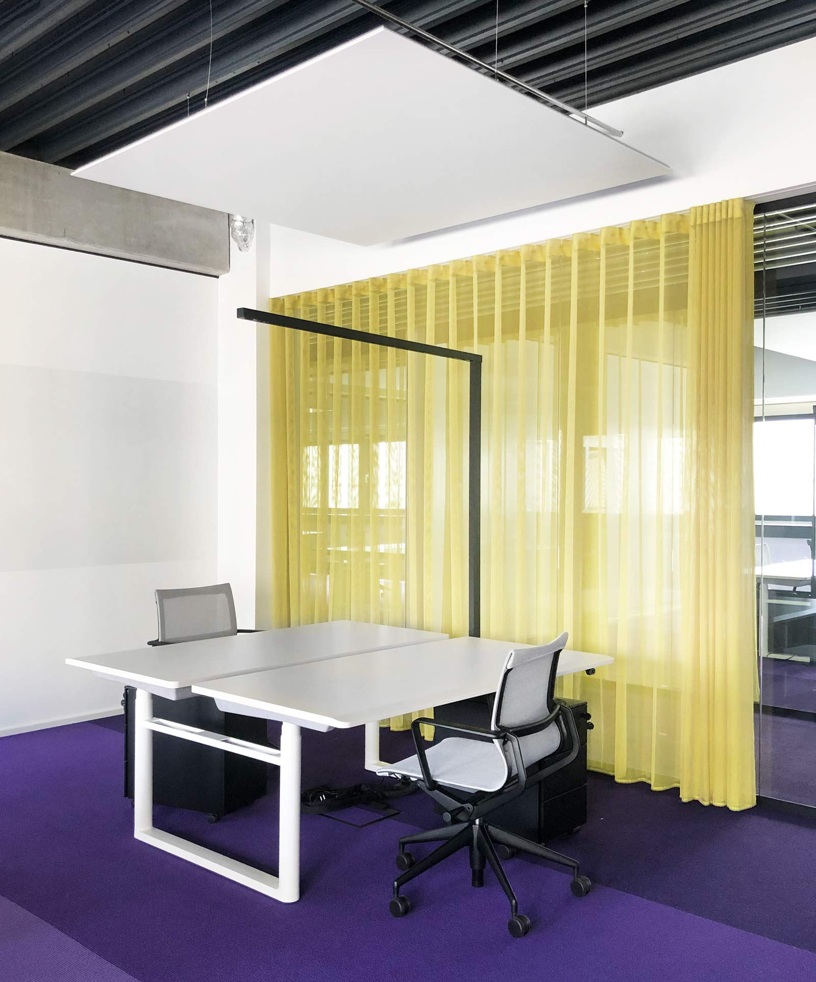 Komplementerfarbe, Office Design, Brand Space, Vitra, Kvadrat, Punct Object