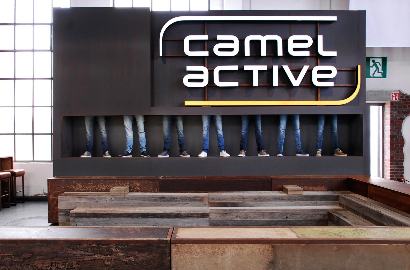 Camel Active Gallery Shoes Messestand